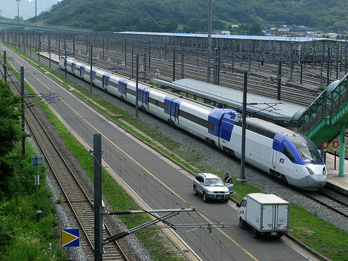 South Korea Bullet Train